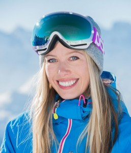Snowboard instructor Emily Simpson