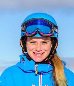 Ski instructor Sega Fairweather
