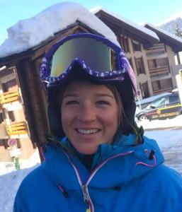 Ski instructor Tamara Koehler