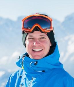 Ski instructor Andras