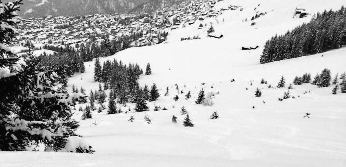 Lots of fresh snow in Verbier