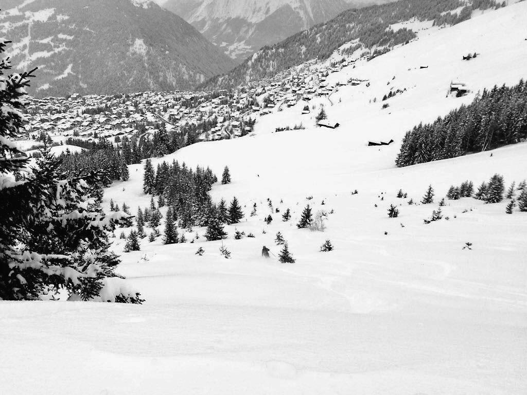 Verbier fresh snow