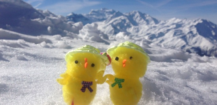 Easter Egg Hunt in Verbier