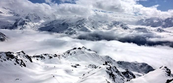 SNOW REPORT IN VERBIER 30/1/17