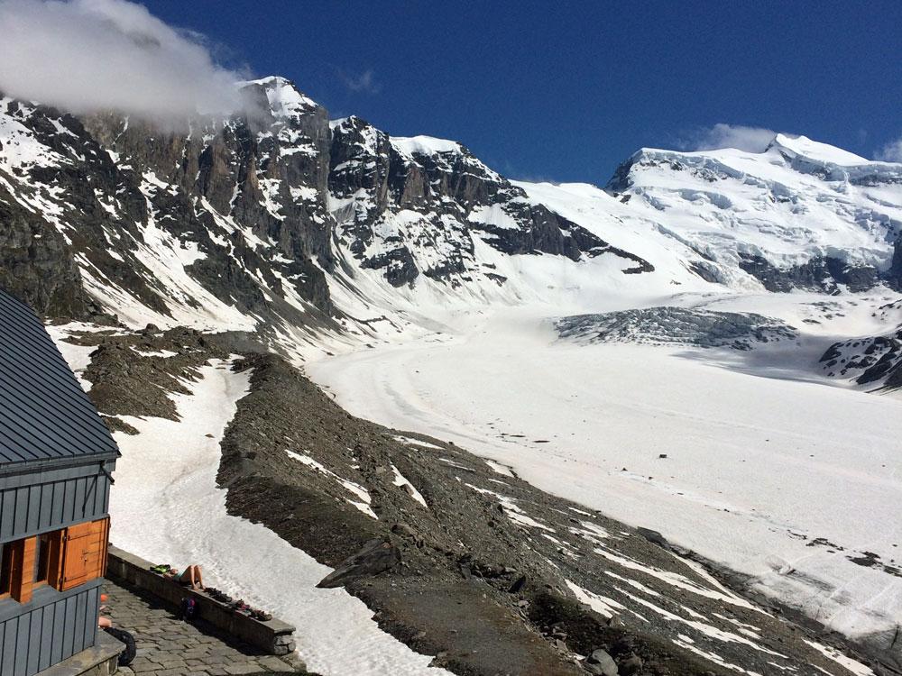 Cabane Panossiere Altitude Verbier