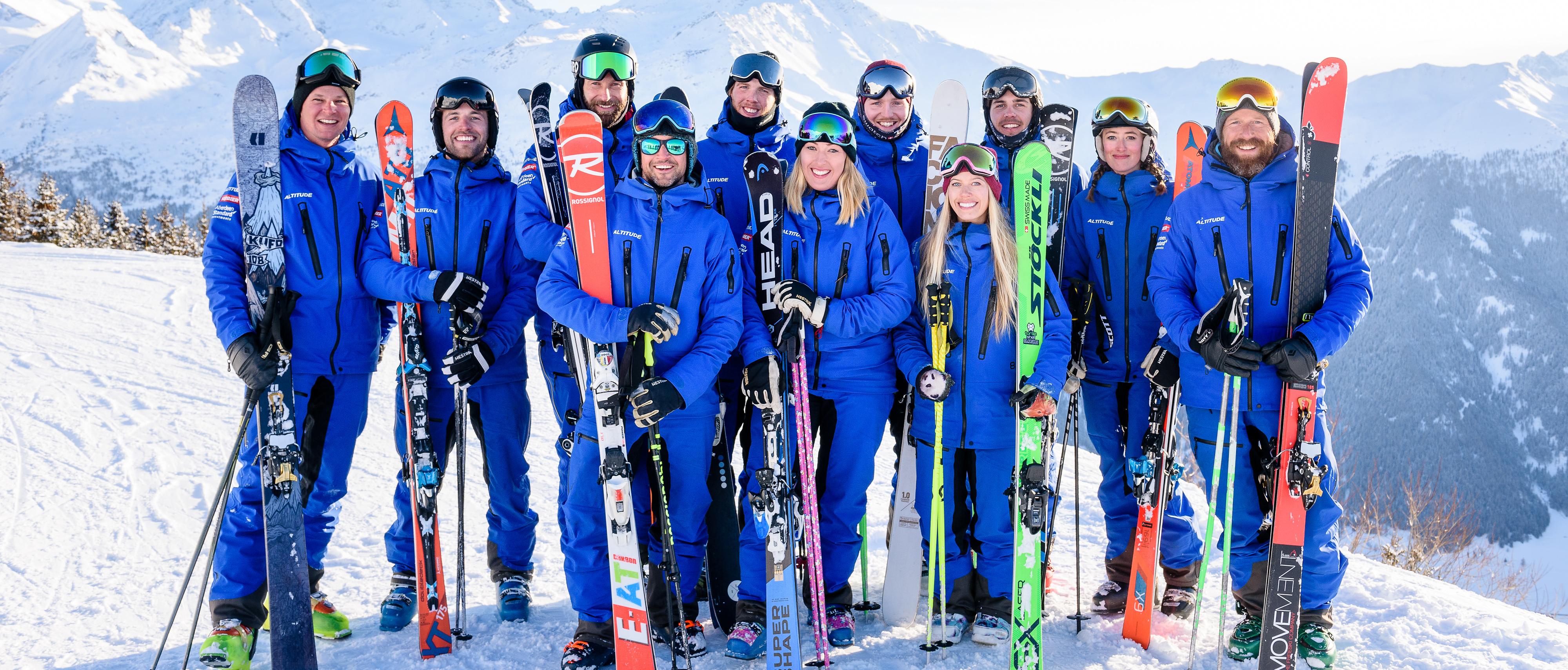 best ski school in verbier