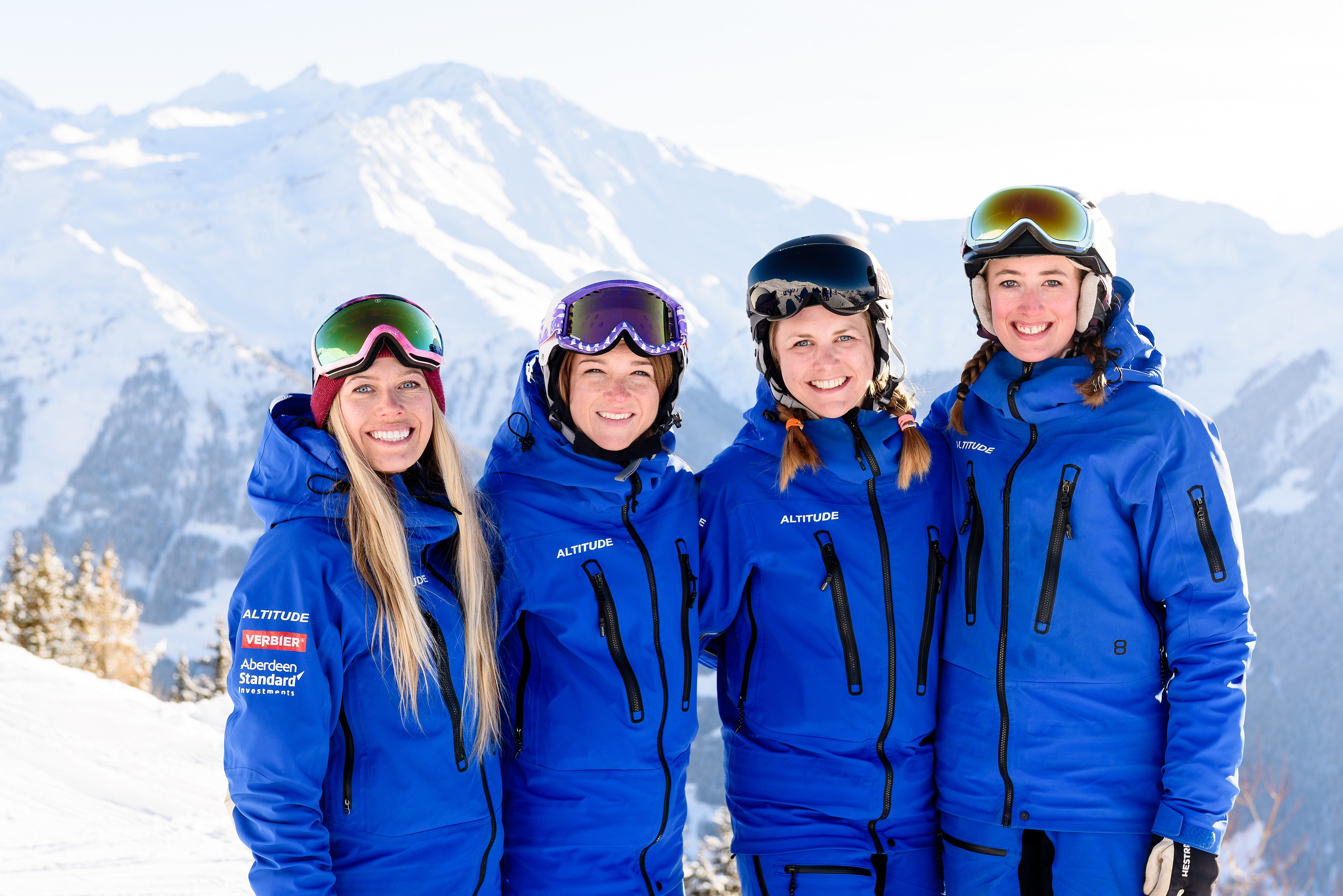 best ski school verbier