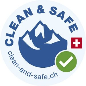 clean and safe in Verbier